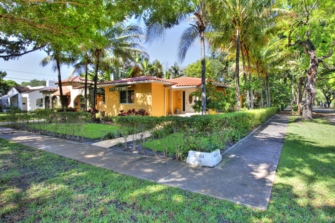 Coral Gables Home For Sale At 1500 Genoa Street