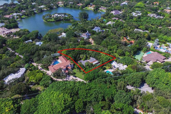 Coral Gables Land For Sale At 4880 Hammock Lake Drive