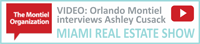 MIAMI REAL ESTATE SHOW, Orlando Montiel interviews Ashley Cusack