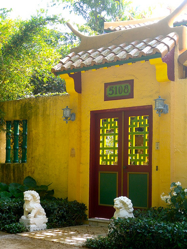 Chinese Village in Coral Gables