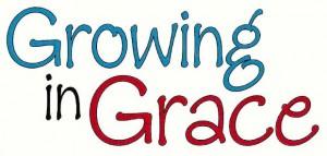 Growing in Grace - sm