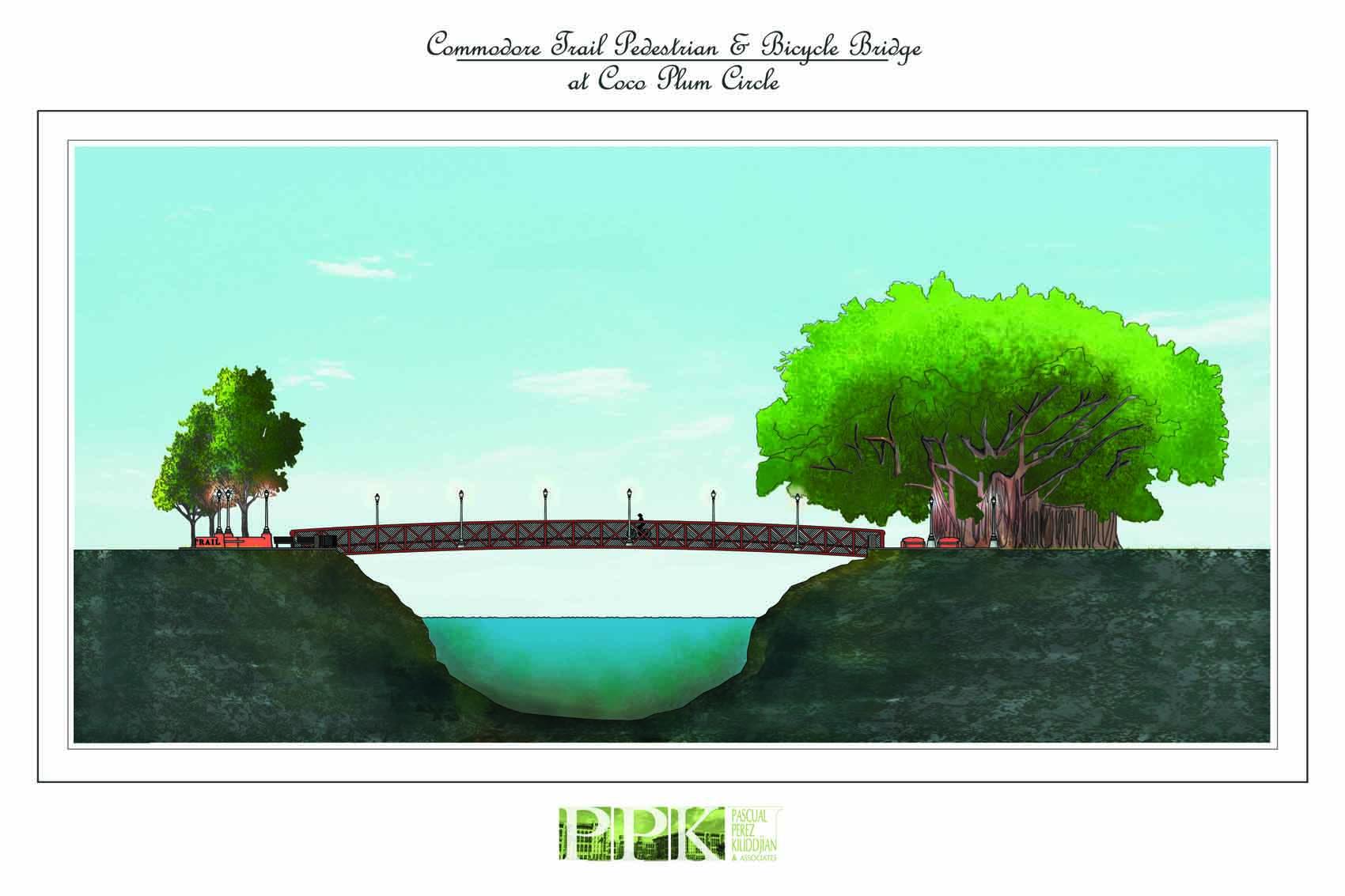 Commodore Trail Pedestrian Bridge