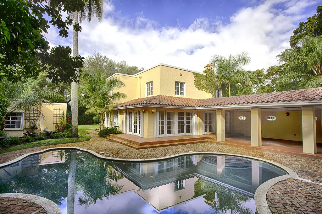 1524 Garcia Avenue Old Spanish Coral Gables exterior