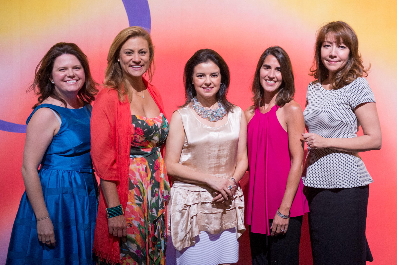 The Ball creative team -- Christine Brown, Rebecca Whited, Patricia Andreu, Shannon Signorello & Suzanna Valdez - photo by justin namon