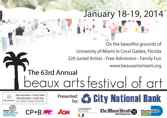 Beaux Arts Festival 2014