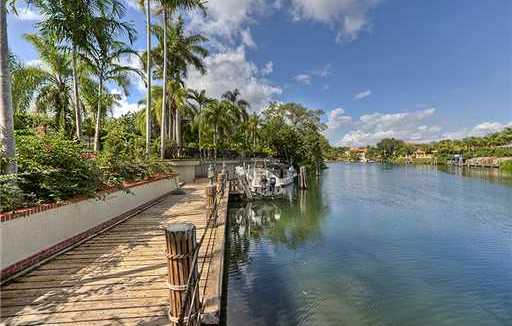 Coral Gables waterway waterfront real estate