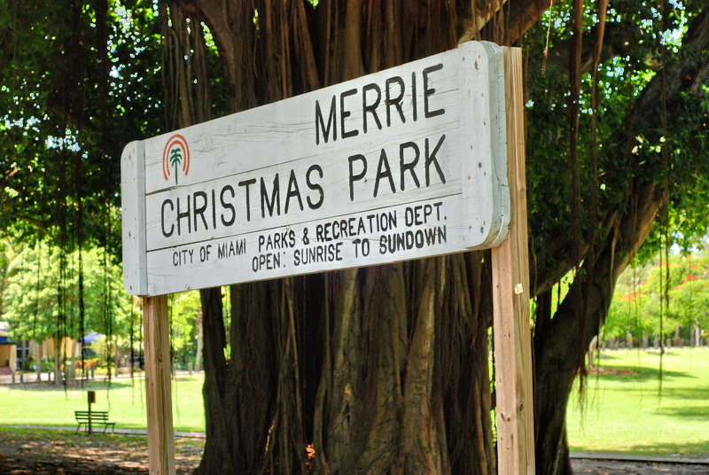 Coconut Grove: Merrie Christmas Park -- Why Was it Closed?