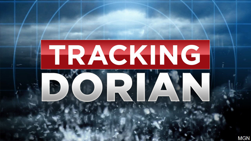Tracking Dorian