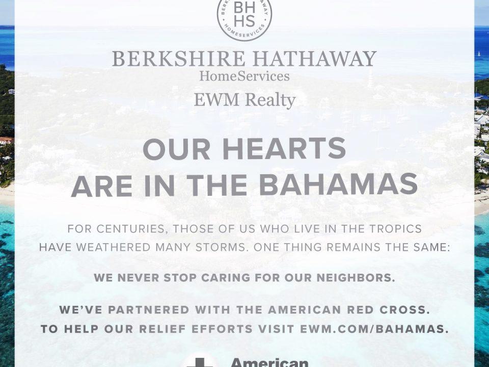 BHHS EWM Realty Hurricane Dorian Relief